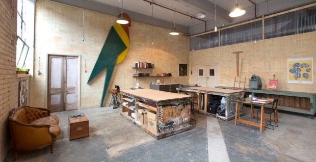 Collectic Vintage_Creative Spaces_The Warehouse - art and design studio melbourne